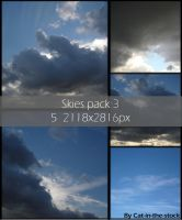 Skies pack 3 by Cat-in-the-Stock