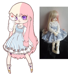 Tyler's new design AND DOLL! by jzsketch
