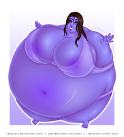 Commission | Anonymous Blueberry by Venatari