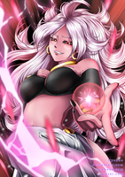 [Dragon Ball FighterZ] Android 21 by NyuSho