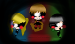 The Puppet Puff Girls by rainbow223