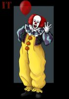 pennywise by nightwing1975