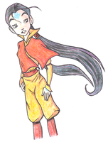 Hay Lin Airbender by PokeponyAquaBubbles