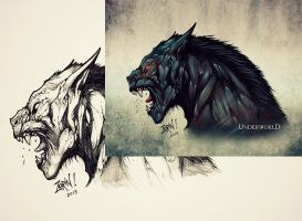 Underworld Lycan by Trustkill-Jonathan