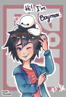 Hi! I'm Baymax! by KazMidnight