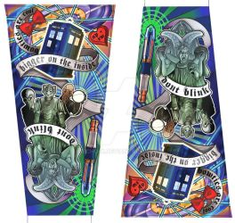 'Dr Who' Sleeve by echo-x