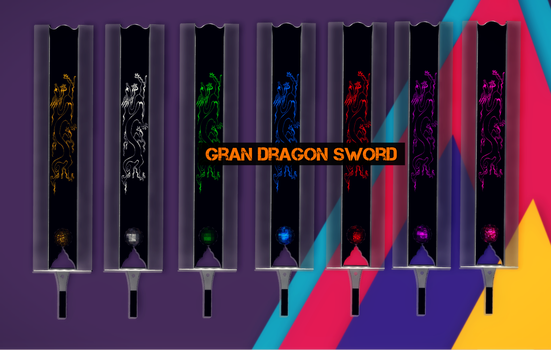 Gran Dragon Sword by RavenKiryu