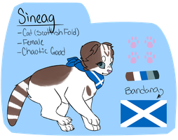 Sineag Reference Sheet by Official-Fallblossom