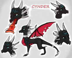 Cynder Concept art by Bluepisces97