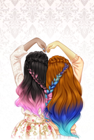 Heart Braid by AderiAsha