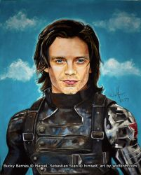 Captain America: Bucky Barnes, Winter Soldier 2 by WolfenM