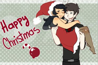 MERRY CHRISTMAS AND A HAPPY NEW YEAR [greenlove] by aidmoon