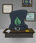 The Leaf - September of Draws Day 8 by ThermalTheorist
