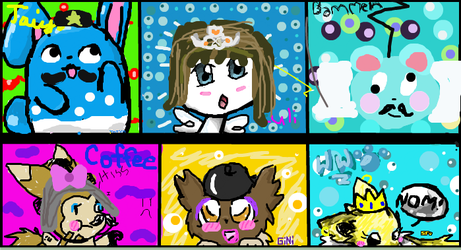Iscribble Doodles -Vandalized Version- by LuliEletrike