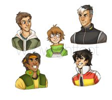 Voltron by WillowLightfoot