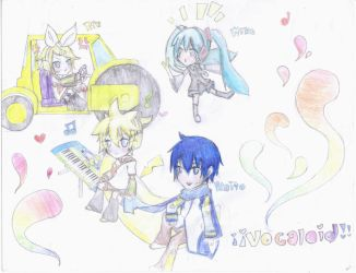 Vocaloid by 00maybe00