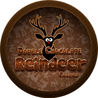 Chocolate Reindeer Cookies by Echilon