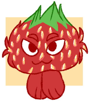 [neopets] strawberry jubjub by l3arks