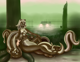 Good Intentions (Skunk Witch of 3010 Rubber Grove) by Mewscaper