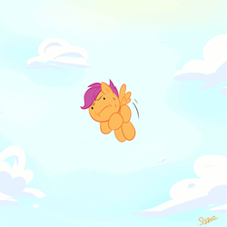 Kinda Flying by Slypon