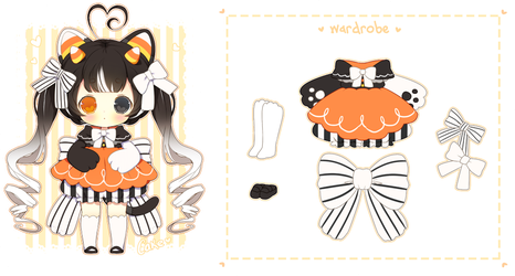 Halloween Sugarpom Auction [CLOSED] by CakexChan