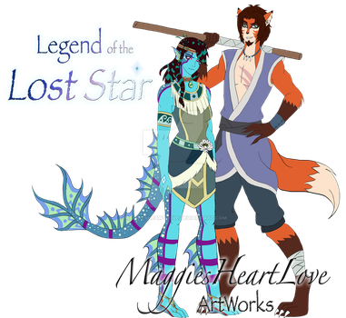 Legend of the Lost Star, Talulah and Akio by MaggiesHeartLove