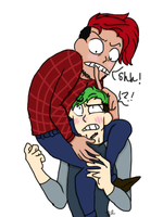 Septiplier- Shh! [Draw your OTP like this] by RoyalSwirls