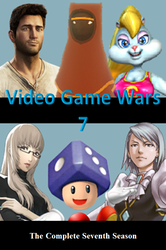 Video Game Wars 7 DVD Cover by DARealityTV