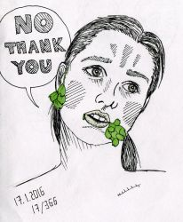 no thenk you by LeenaKill