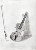 Violin (First Try) by Bllq21