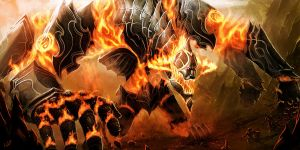 Idaboth, Fire elemental coloss by Athayar