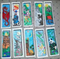 Bookmarks by ElkStarRanchArtwork