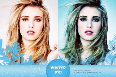 winter PSD by ChelseaMitchell
