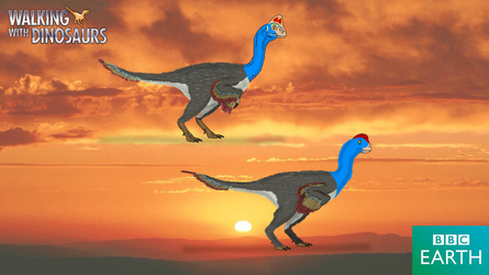 Walking with Dinosaurs: Chirostenotes by TrefRex