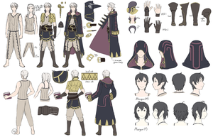 FE:A - Tactician Reference sheet by DragonBladerX