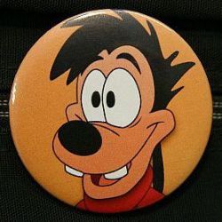 Max Goof Button by Chi-Yu