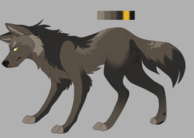 100 points wolf adopt [closed] by BasicalAdopts