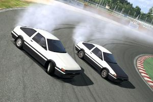 AE86 Parallel Drift by PenaltyShot99