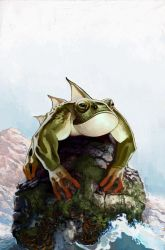 Giant Sea Frog by BerolEagle