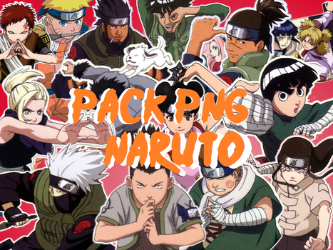 Naruto Pack Png by Barucgle123