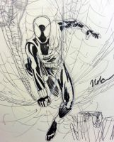 Scarlet Spider sketch by CagsCreations