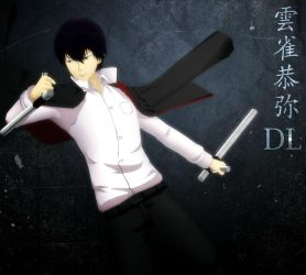 MMD Model Kyoya Hibari DL by Kowaii-Kaorry