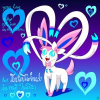 Sylveon's Valentine by Maxo4Life