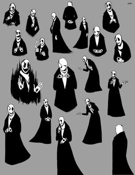 Undertale: A Gaster Disaster by Atenovx