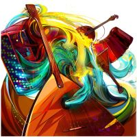 Music CD cover by LimKis