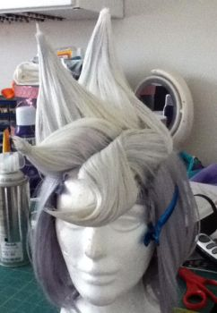 WIP: Damon Gant wig by the-sushi-monster