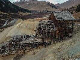 Abandoned Mining Mill by david49152