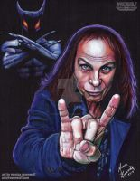Ronnie James Dio and Murray by MonicaRavenWolf