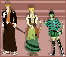 Humanoid Animal Adopts -OPEN- by Effects-of-Crimson