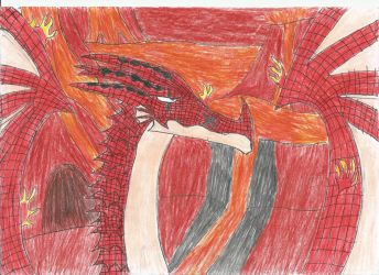 Igneel The Fire Dragon King by smaugthegolden123